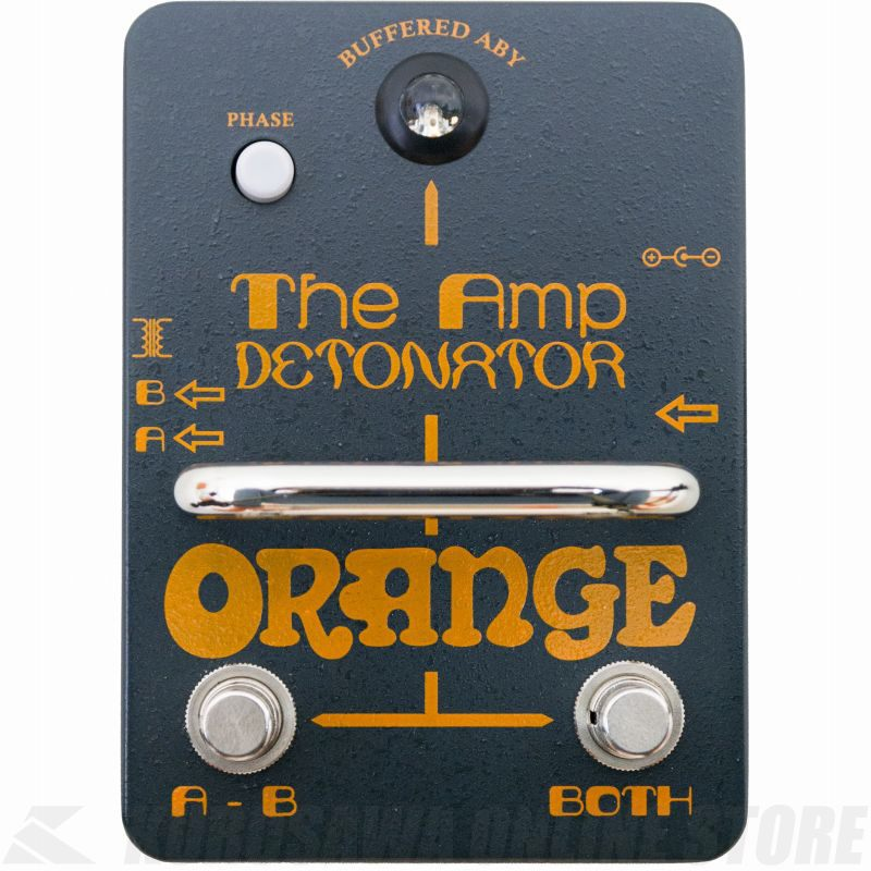 Orange Amp Detonator Buffered AB-Y switcher pedal《エフェクター/バッファ内蔵ABYスイッチャー》【送料無料】【ONLINE STORE】
