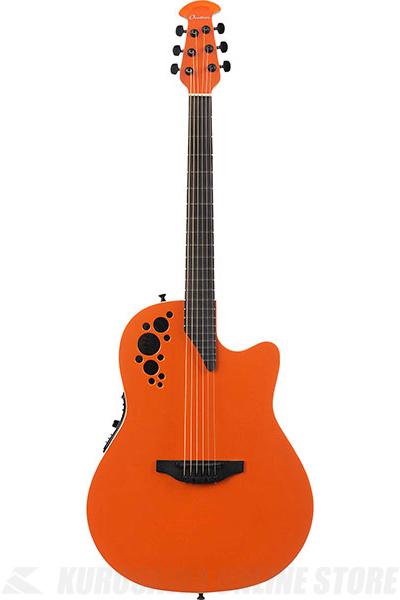Ovation Elite TX Super Shallow - 1868TX(Gloss Orange) 《アコースティックギター/エレアコ》【送料無料】【ONLINE STORE】