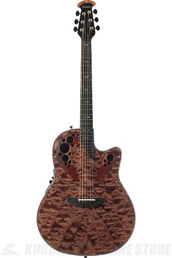 Ovation Elite Plus - C2078AXP-TE(Tiger Eye) 《アコースティックギター/エレアコ》【送料無料】【ONLINE STORE】