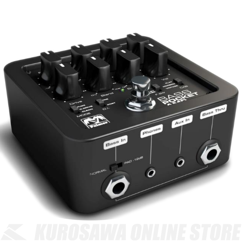PALMER Pocket Amp Bass: Portable Bass Preamp with DI-Out《ベース用プリアンプ》【送料無料】【ONLINE STORE】