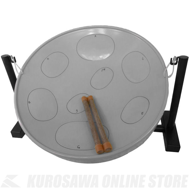 Panyard Jumbie Jam テーブルキット (Silver) 《スティールパン》 【送料無料】【ONLINE STORE】