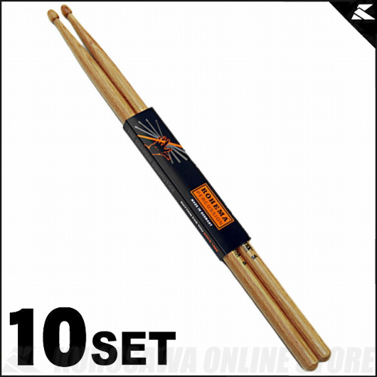 Rohema Percussion Hornwood Series 5A Hornwood [61323/3] 《ドラムスティック》【10セット】【送料無料】【ONLINE STORE】