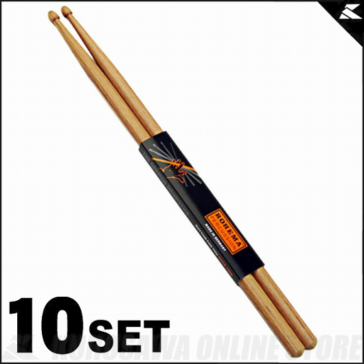 Rohema Percussion Hornwood Series 7A Hornwood [61325/3] 《ドラムスティック》【10セット】【送料無料】【ONLINE STORE】