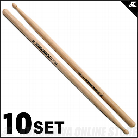 Rohema Percussion Natural Series Natural 5A Hickory [61323/2U] 《ドラムスティック》【10セット】【送料無料】【ONLINE STORE】