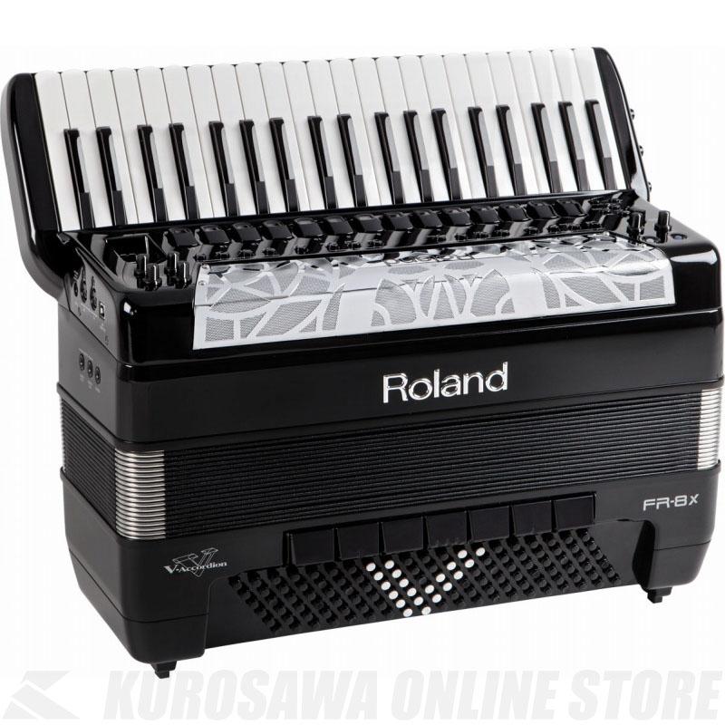 Roland V-Accordion FR-8X BK (Black) 《電子アコーディオン》 【送料無料】【ONLINE STORE】