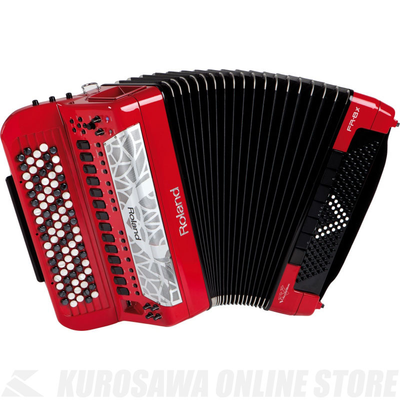 Roland V-Accordion FR-8XB RD (Red) 《電子アコーディオン》 【送料無料】【ONLINE STORE】