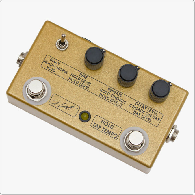 ZCAT Pedals Hold-Delay-Chorus Delay with Tap Tempo Chorus + Hold 《エフェクター/ディレイ/コーラス/ホールド》【送料無料】【ONLINE STORE】