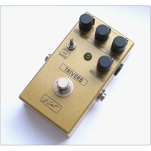 ZCAT Pedals TriVerb Digital Reverb 《エフェクター/リバーブ》【送料無料】【ONLINE STORE】
