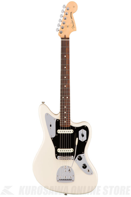 Fender American Professional Jaguar, Rosewood Fingerboard, Olympic White《エレキギター/ジャガー》 【送料無料】【ONLINE STORE】