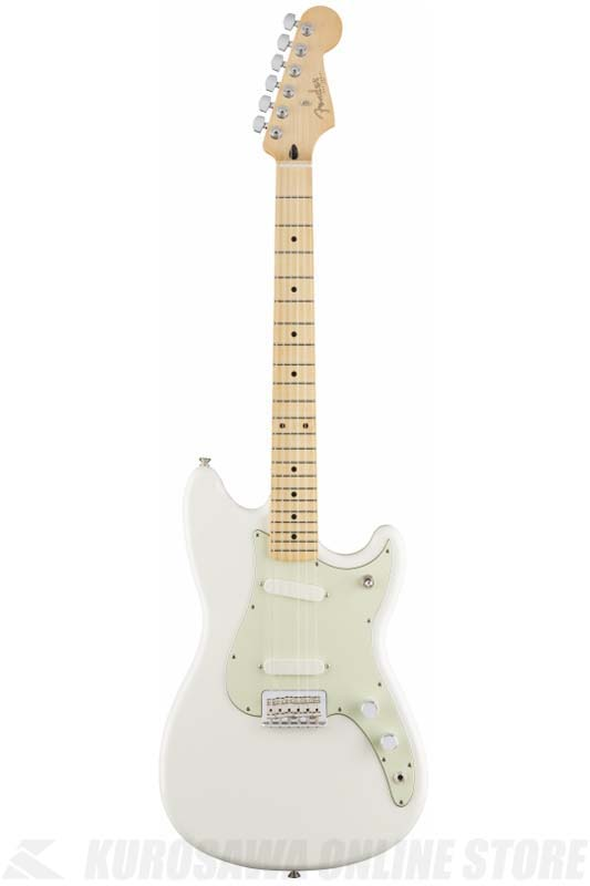Fender Duo-Sonic, Maple Fingerboard, Arctic White[0144012580]《エレキギター/デュオソニック》 【送料無料】【ONLINE STORE】