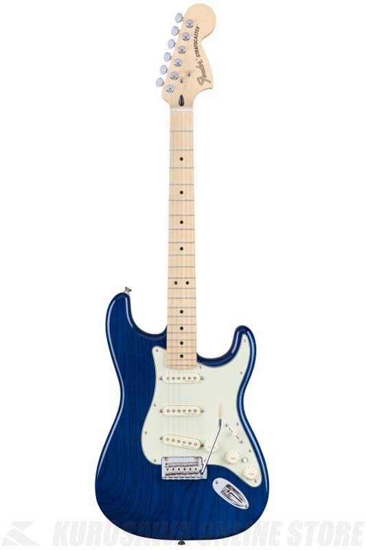 Fender Deluxe Stratocaster, Maple Fingerboard, Sapphire Blue Transparent[0147102327]《エレキギター/ストラトキャスター》 【送料無料】【ONLINE STORE】