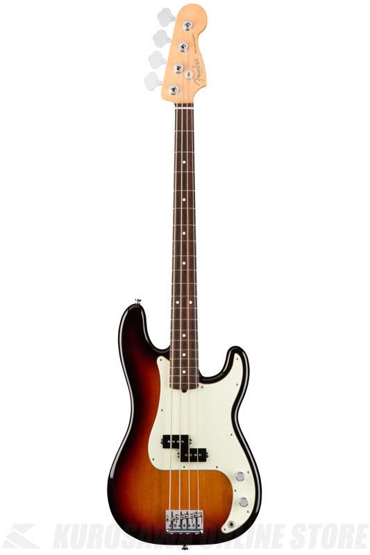 Fender American Professional Precision Bass, Rosewood Fingerboard, 3-Color Sunburst《ベース/プレシジョンベース》【送料無料】【ONLINE STORE】