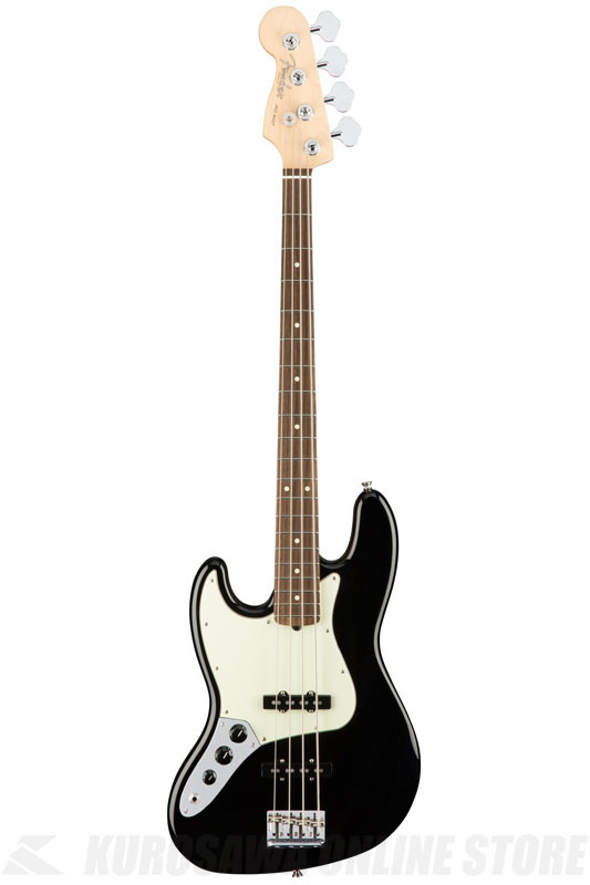 Fender American Professional Jazz Bass Left-Hand, Rosewood Fingerboard, Black《ベース/ジャズベース》【送料無料】【ONLINE STORE】