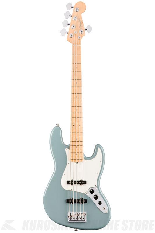 Fender American Professional Jazz Bass V, Maple Fingerboard, Sonic Gray《ベース/ジャズベース》【送料無料】【ご予約受付中】【ONLINE STORE】