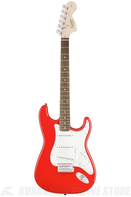 Squier Affinity Series Stratocaster, Indian Laurel, Race Red[0310600570] (送料無料)(マンスリープレゼント)(ご予約受付中)【ONLINE STORE】
