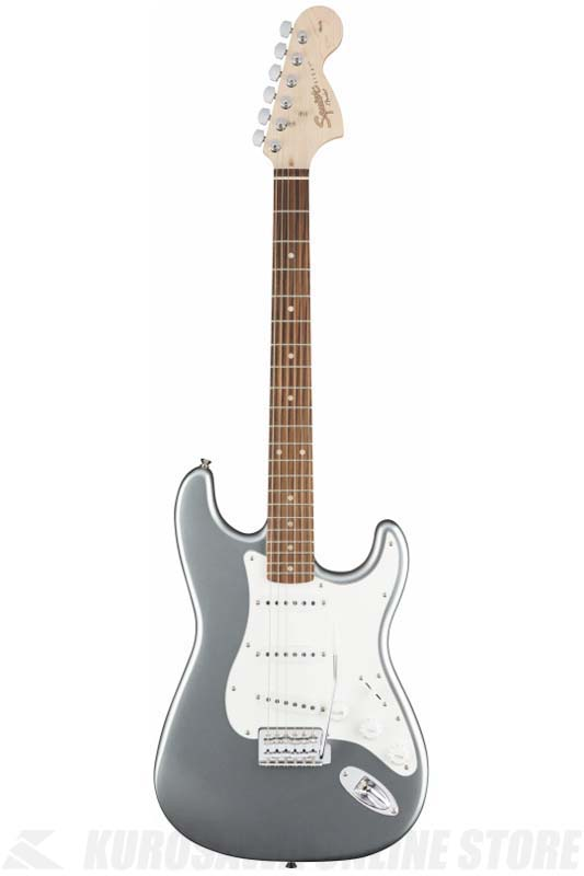 Squier Affinity Series Stratocaster, Indian Laurel, Slick Silver[0310600581] (送料無料)(マンスリープレゼント)【ONLINE STORE】