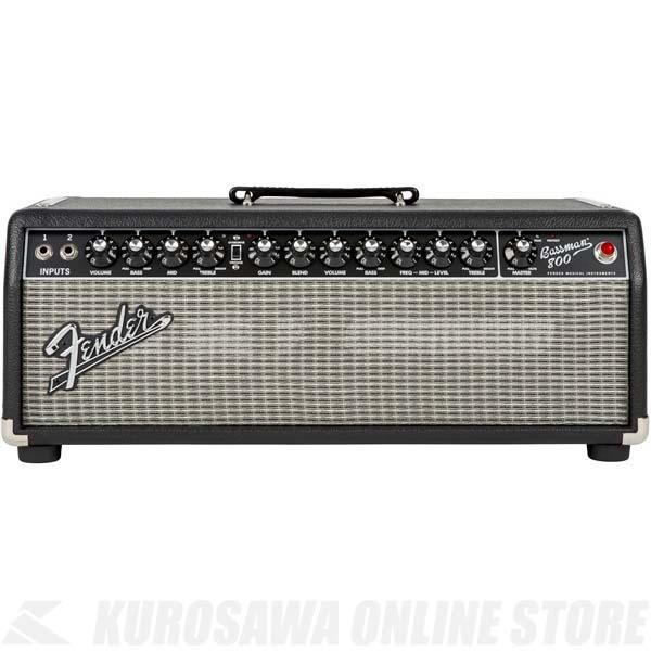 Fender Bassman 800 Head, 100V JPN 《ベースアンプ/ヘッドアンプ》【送料無料】【Fenderピック3枚プレゼント】【ご予約受付中】【ONLINE STORE】