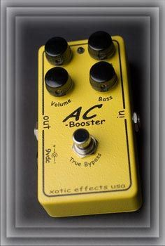 Xotic AC Booster 【smtb-u】【ONLINE STORE】