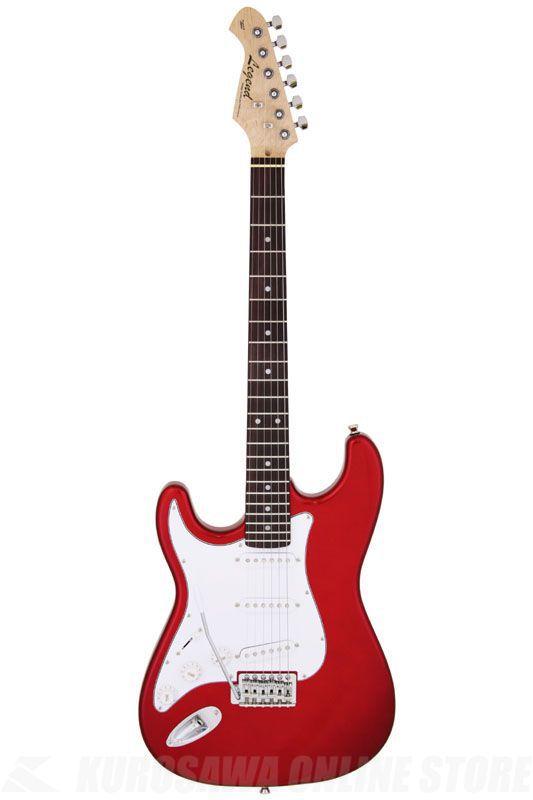 Legend LST-Z LH CA (Candy Apple Red)《Left-Hand / 左利き用》《エレキギター》【初心者・入門用にオススメ!】【納期未定・ご予約受付中】【ONLINE STORE】