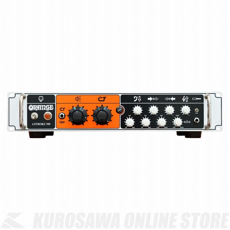 Orange '4 Stroke 500' - Bass guitar amplifier head, 500W [4-STROKE-500] (Orange) 《ベースアンプ/ヘッドアンプ》 【送料無料】【ONLINE STORE】