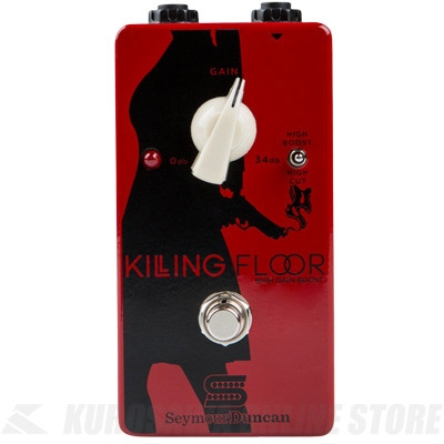 Seymour Duncan Killing Floor -High Gain boost-(エフェクター/ブースター)(送料無料)(マンスリープレゼント)(お取り寄せ)【ONLINE STORE】