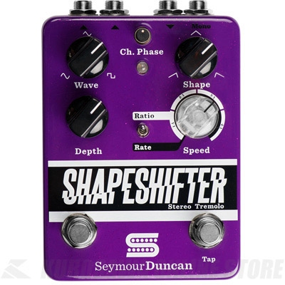 Seymour Duncan Shape Shifter -Stereo Tremolo-(エフェクター/トレモロ)(送料無料)(マンスリープレゼント)(お取り寄せ)【ONLINE STORE】