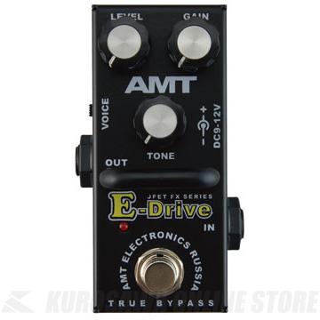 AMT E-Drive mini 《エフェクター/オーバードライブ/ディストーション》 【送料無料】【納期未定・ご予約受付中】【ONLINE STORE】
