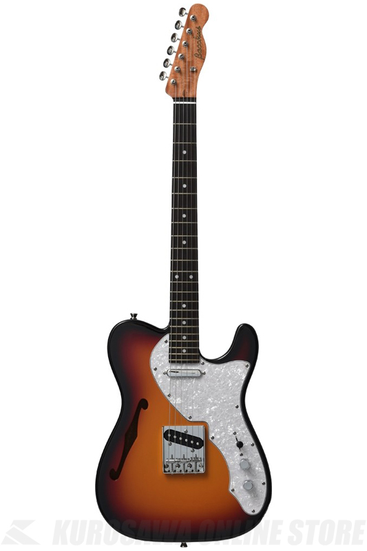Bacchus Global Series BTH-MAHO (3TS/Rosewood Fingerboard) 《エレキギター》【送料無料】【ONLINE STORE】