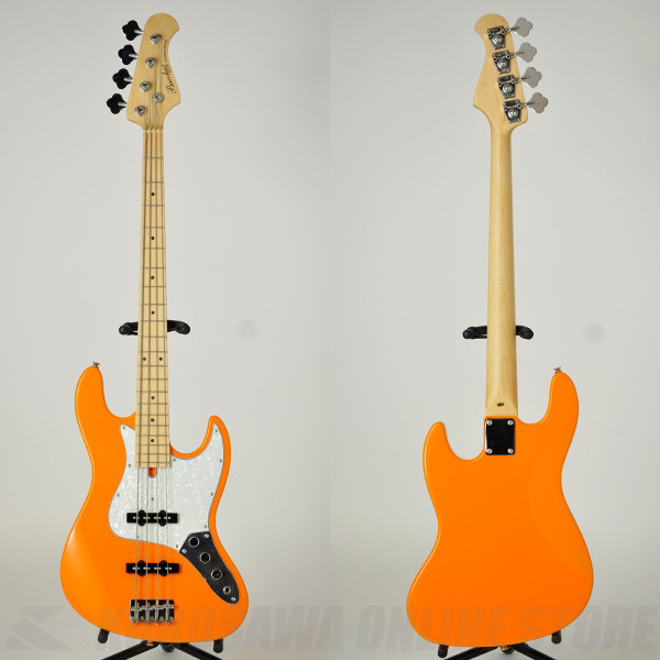 Bacchus Universe Series WJB-330M (ORG/Maple Fingerboard) 《ベース》【送料無料】【ONLINE STORE】