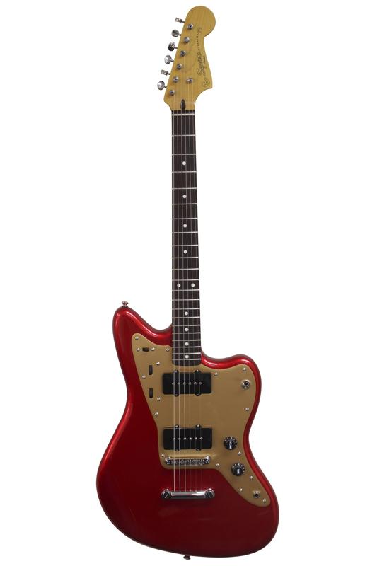 Squier Deluxe Jazzmaster ST (Candy Apple Red / Rosewood Fingerboard) 《エレキギター/ ジャズマスター》【送料無料】【ONLINE STORE】