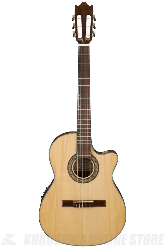 Ibanez GA30TCE-NT (Natural High Gloss) (クラシックギター/エレガット)(送料無料)【ONLINE STORE】