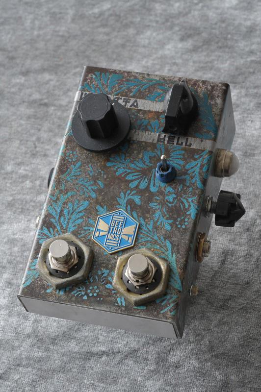 Beetronics / ビートロニクス オクターブファズ WHOCTAHELL Custom Blue Leafs (ONLINE STORE)