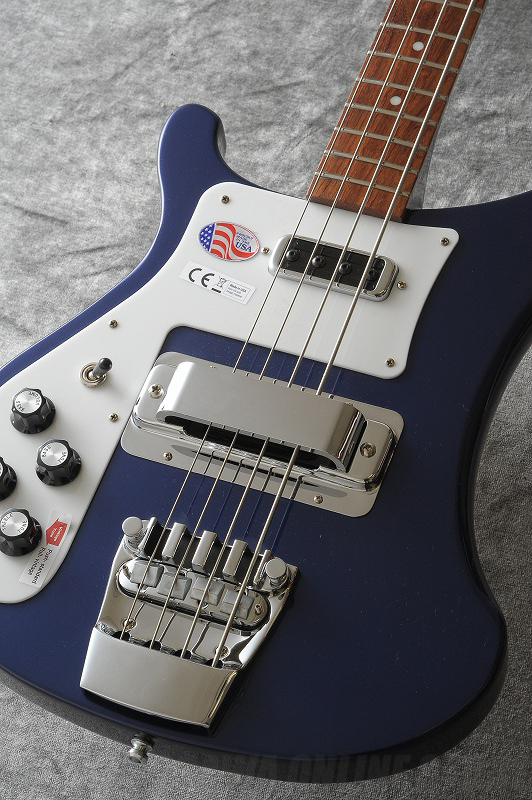 Rickenbacker Model 4003S Left-handed 左利き用 MID (Midnight Blue) 《ベース》【送料無料】【ONLINE STORE】