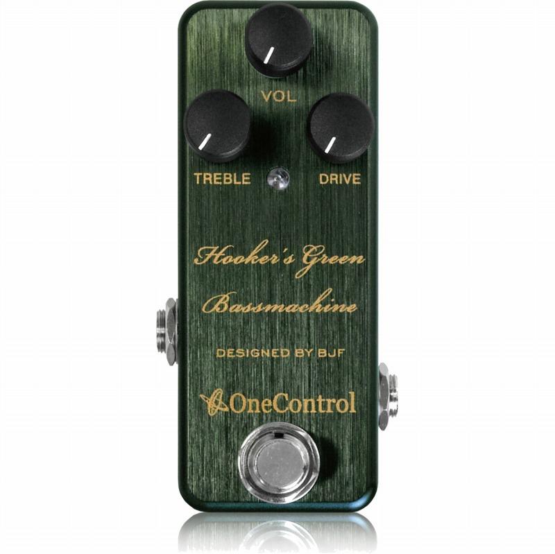 One Control Hooker's Green Bass Machine 《エフェクター/ベース用オーバードライブ》【送料無料】【ONLINE STORE】
