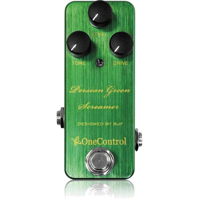 One Control Persian Green Screamer《エフェクター/オーバードライブ》【送料無料】【ONLINE STORE】