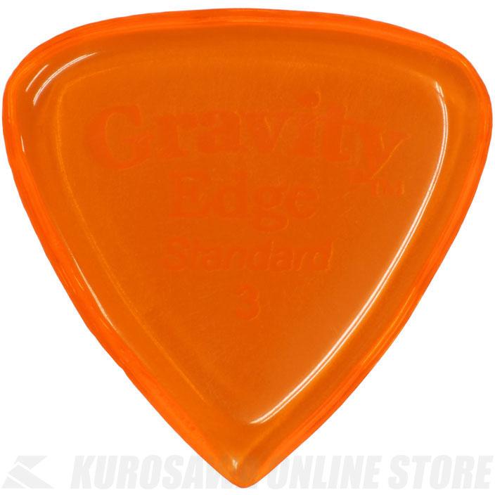 ピック 《グラヴィティギターピックス》 GRAVITY GUITAR 無料サンプルOK 正規品送料無料 PICKS GEES3P ONLINE STORE Orange ネコポス 《ピック》 3.0mm