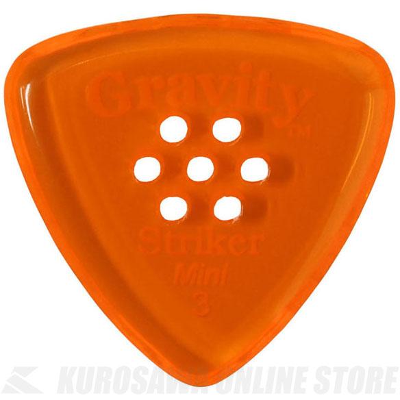 ピック お気に入 《グラヴィティギターピックス》 GRAVITY GUITAR PICKS GSRM3PM 3.0 mm STORE 高級 《ピック》 ONLINE with Multi-Hole Orange ネコポス
