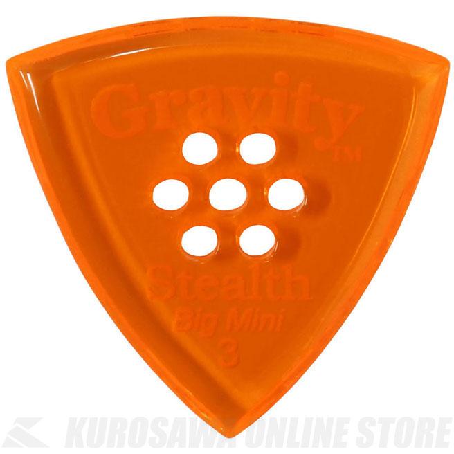ピック 定番 《グラヴィティギターピックス》 GRAVITY GUITAR PICKS GSSB3PM 3.0 mm ONLINE 在庫一掃売り切りセール Multi-Hole STORE 《ピック》 ネコポス with Orange