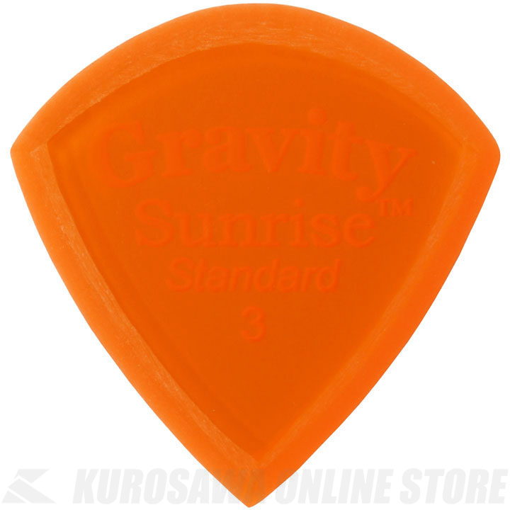 <title>至上 ピック 《グラヴィティギターピックス》 GRAVITY GUITAR PICKS GSUS3M 3.0mm Orange Master Finish Unpolished 《ピック》 ネコポス ONLINE STORE</title>
