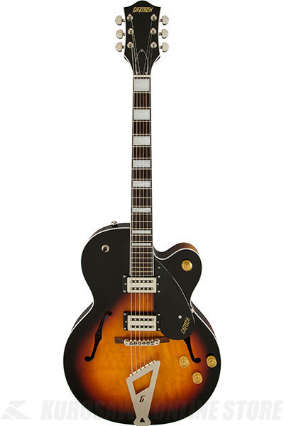 Gretsch G2420 Streamliner Hollow Body with Chromatic II Tailpiece (Aged Brooklyn Burst)《エレキギター》【送料無料】【ONLINE STORE】