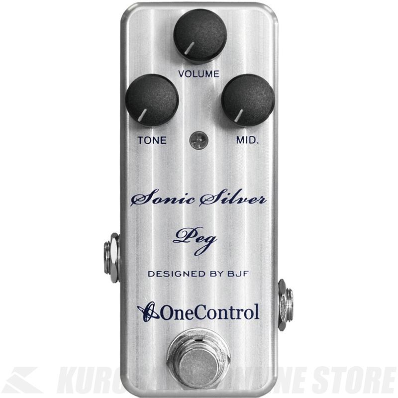 One Control / Sonic Silver Peg 《エフェクター/ベースオーバードライブ/ベースプリアンプ》【送料無料】【ONLINE STORE】