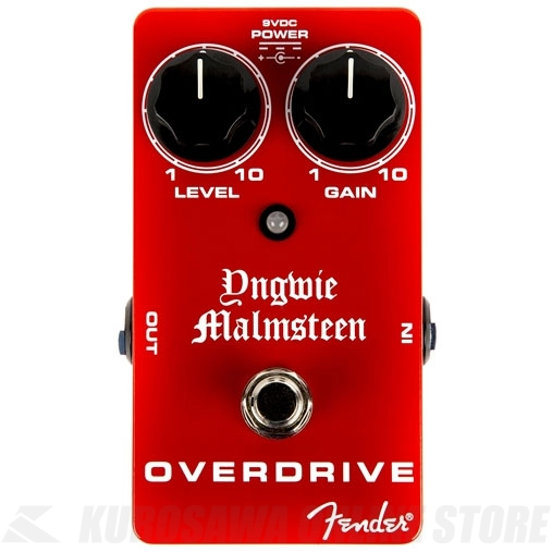 Fender Yngwie Malmsteen Overdrive Pedal 《エフェクター/オーバードライブ》【送料無料】【ONLINE STORE】