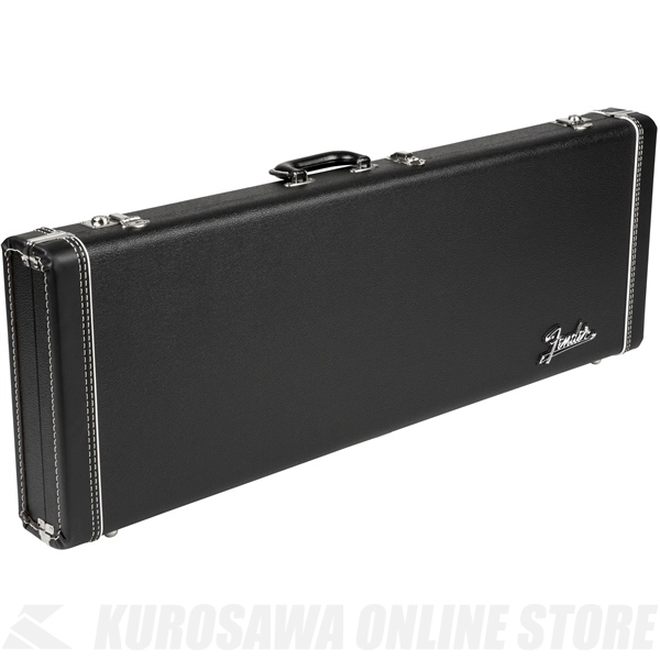 Fender G&G Deluxe Hardshell Cases - Stratocaster /Telecaster (Black with Orange Plush Interior)《ギター用ハードケース》【送料無料】【ONLINE STORE】