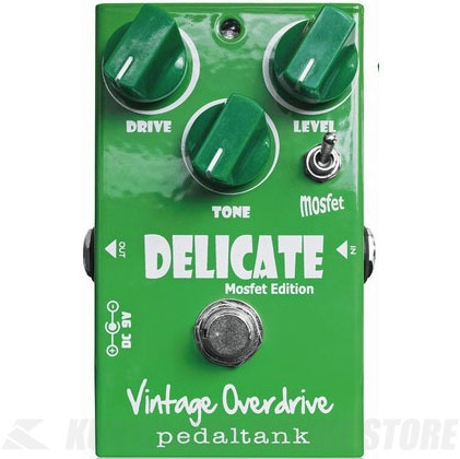 Pedal Tank / Delicate Vintage Overdrive《エフェクター/オーバードライブ》【送料無料】【ONLINE STORE】