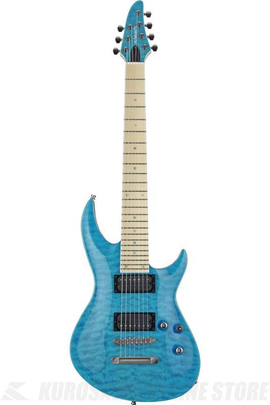 EDWARDS Original Series E-HR-III NT7 QM/M Aqua Marine (エレキギター/7弦ギター) (送料無料)【ONLINE STORE】