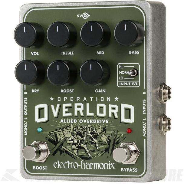 Electro-Harmonix Operation Overlord 《エフェクター/オーバードライブ/ディストーション》【送料無料】【ONLINE STORE】