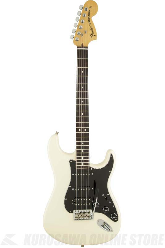 Fender American Special Stratocaster HSS, Rosewood Fingerboard, Olympic White (エレキギター/ストラトキャスター)(送料無料)(Micro Crushプレゼント)(ご予約受付中)【ONLINE STORE】