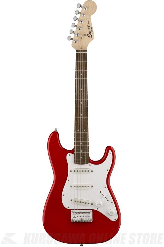 Squier Mini Strat, Torino Red (エレキギター/ストラトキャスター) (送料無料)(ご予約受付中)【ONLINE STORE】