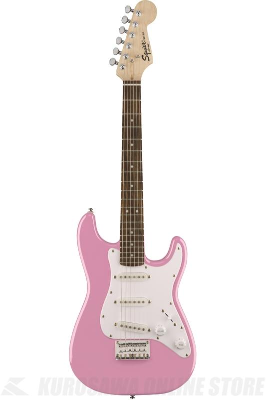 Squier Mini Strat, Pink (エレキギター/ストラトキャスター) (送料無料)【ご予約受付中】【ONLINE STORE】