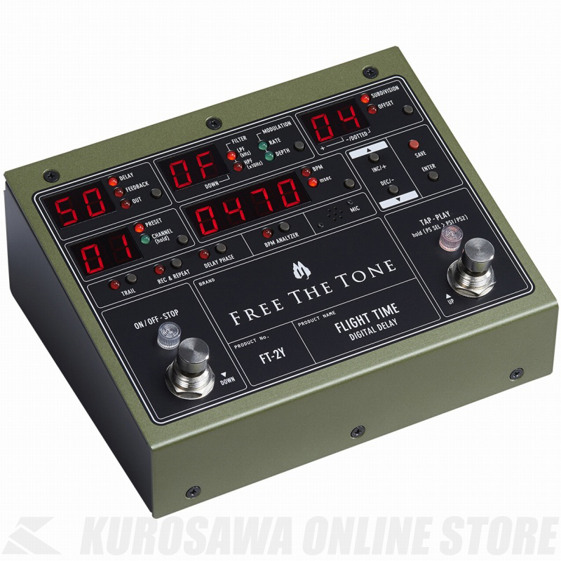 結婚祝い FREE THE TONE DELAY DIGITAL DELAY FREE TONE FLIGHT TIME [FT-2Y] 《エフェクター/デジタルディレイ》【送料無料】【ONLINE STORE】, ブティックVR:99c11474 --- canoncity.azurewebsites.net